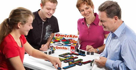Qwirkle Legespiel